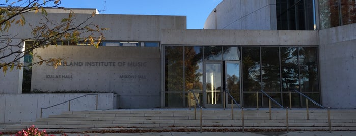 Cleveland Institute of Music is one of CLEVELAND.