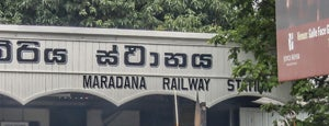 Maradana Railway Station is one of Witkacy na Cejlonie.