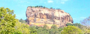 Sigiriya Rock is one of Witkacy na Cejlonie.