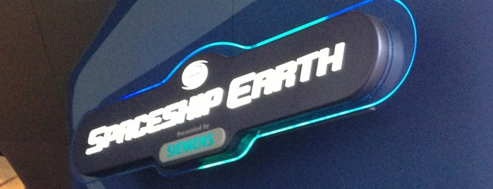 Spaceship Earth is one of Epcot.