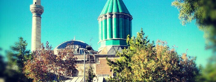 Mevlana Museum is one of Konya.