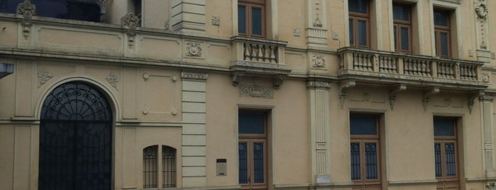 Teatro Guarany is one of Santos Cultural.