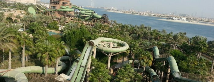 Aquaventure Waterpark is one of dubai.