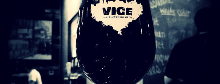 Vice District Brewing is one of Brewery Bucket List.