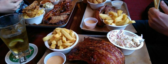 Bison Bar & BBQ is one of Dublin.