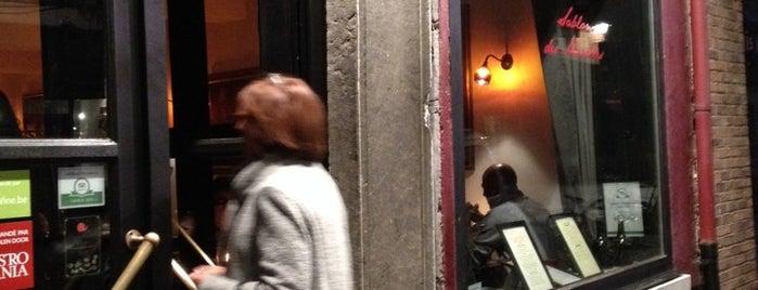 Wine Bar Sablon Des Marolles is one of Brussels: the insider's guide.