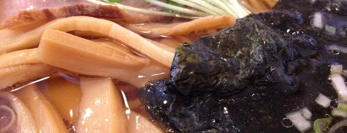 支那そば やまき is one of The 麺.