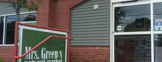 Mrs. Green's Fairfield is one of Mrs. Green's Natural Market.