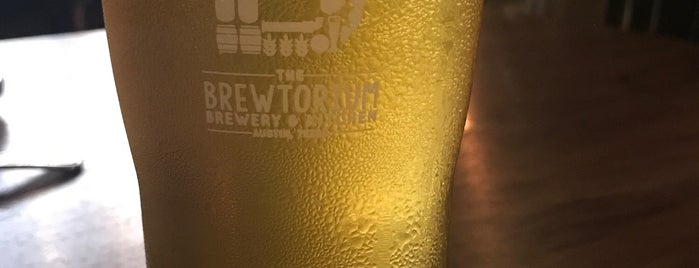 The Brewtorium is one of Texas breweries.
