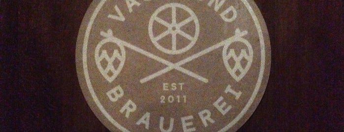 Vagabund Brauerei is one of Berlin Tips.