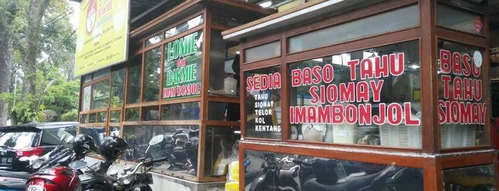 Food Court Imam Bonjol is one of Food Spots @Bandung.