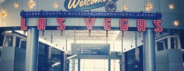 McCarran International Airport (LAS) is one of Viva Las Vegas.