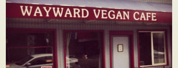 Wayward Vegan Cafe is one of French dips.