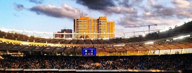 Olimpiyskiy Stadium is one of UEFA EURO 2012 venues.