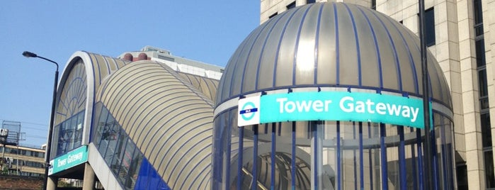 Tower Gateway DLR Station is one of Rail stations.