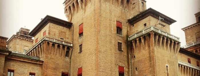 Castello Estense is one of Mia Italia |Toscana, Emilia-Romagna|.