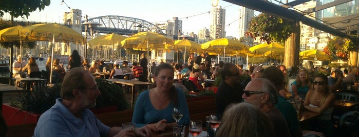 Bridges Restaurant is one of Vancouver.