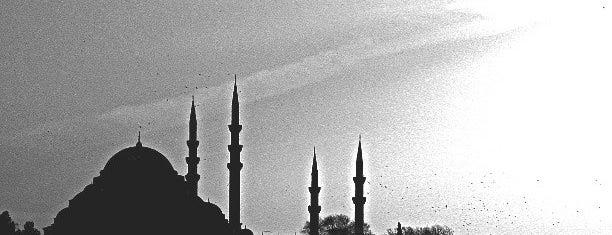 Süleymaniye-Moschee is one of İstanbul'daki Mimar Sinan Eserleri.