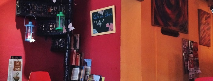 Café con Libros is one of Rincones de Málaga.