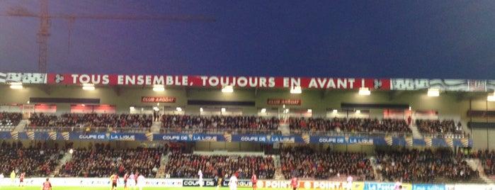 Stade du Roudourou is one of Les stades de la Ligue 1®.