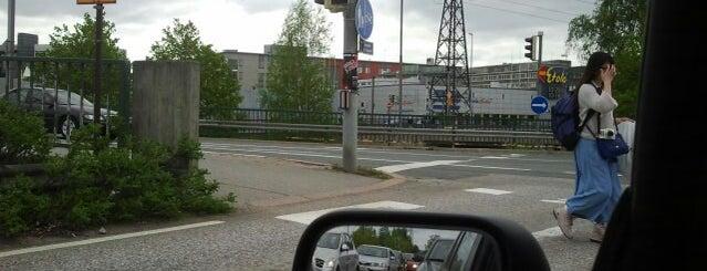 Herttoniemen liikenneympyrä is one of Moido.