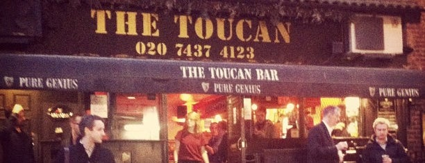 The Toucan is one of London.