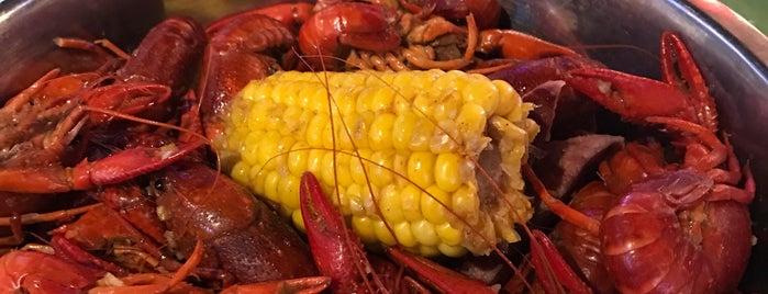Hank's Cajun Crawfish is one of houston nothing.