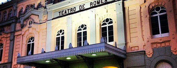Teatro Romea is one of Murcia, que hermosa eres!.