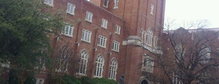 Oklahoma Memorial Union is one of University of Oklahoma.