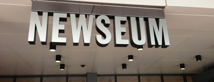 Newseum is one of December in DC.