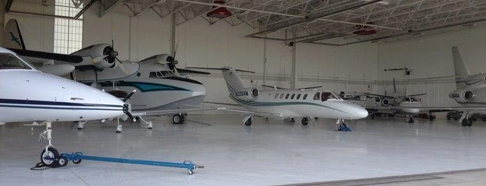 Anoka County Blaine Airport - ANE is one of B.
