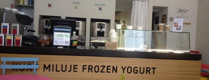 Kurt - Pure Frozen Yogurt is one of real food.