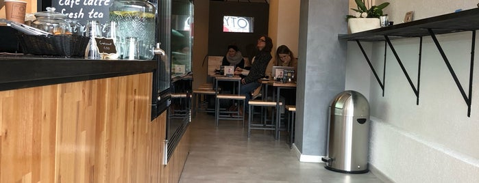 Kyto Coffee + Deli is one of Coffee to drink in CNW Europe.
