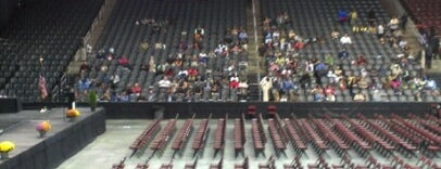 Prudential Center is one of NHL arenas.