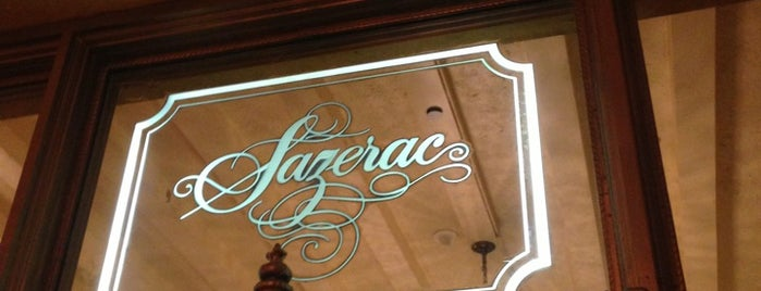 Sazerac Bar is one of NOLA.