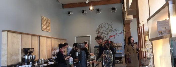 Blue Bottle Coffee is one of Coffee shops in SF.