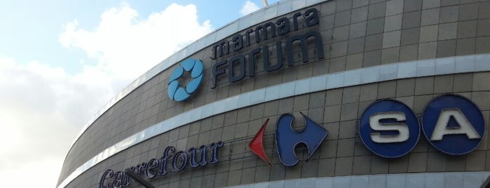 Marmara Forum is one of ALIŞVERİŞ MERKEZLERİ / Shopping Center.