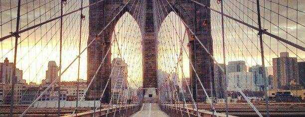 Brooklyn Bridge is one of The Hit List.