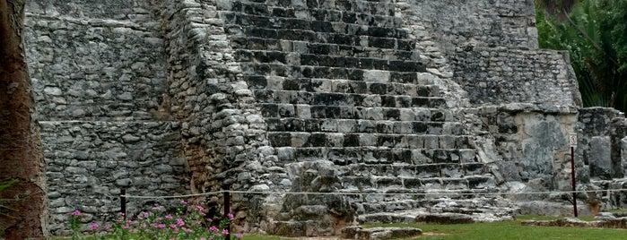 Zona Arqueológica El Meco is one of Mexico // Cancun.