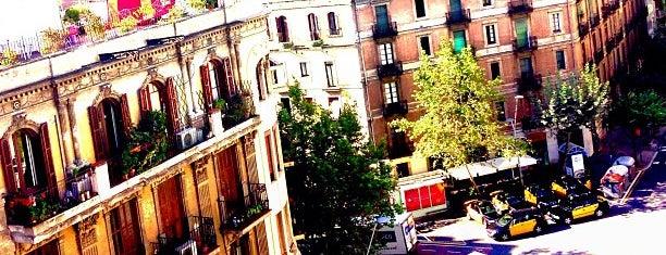 L'Antiga Esquerra de l'Eixample is one of Barcelona.