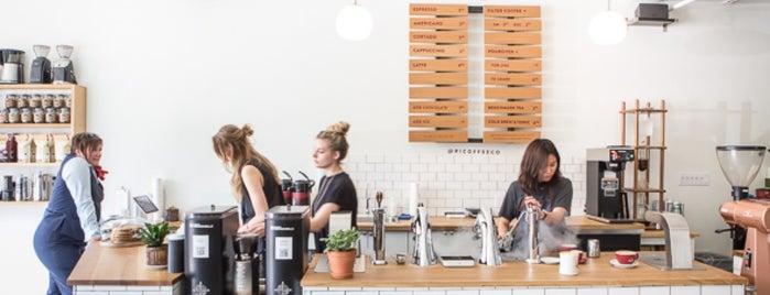 Reunion Island Coffee Bar is one of 2016 Toronto Indie Coffee Passport.