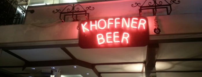 Khoffner Beer Garden is one of Gezelim görelim.