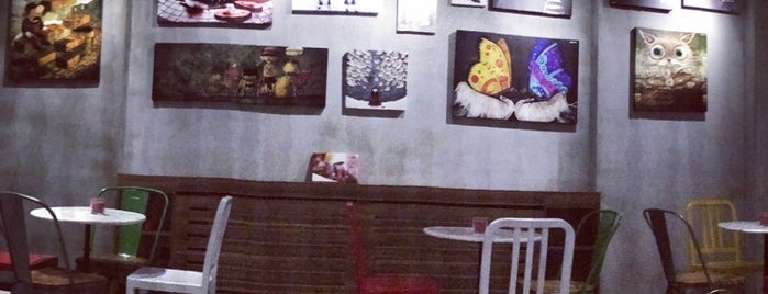 Page Cafe Gallery is one of HOMİNİ GIRTLAK.