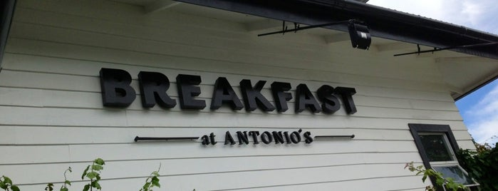 Breakfast at Antonio's is one of ?.