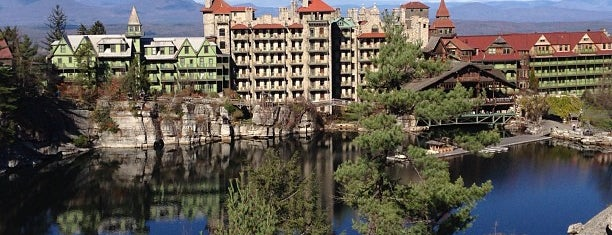 Mohonk Mountain House is one of Hotels and Resorts.