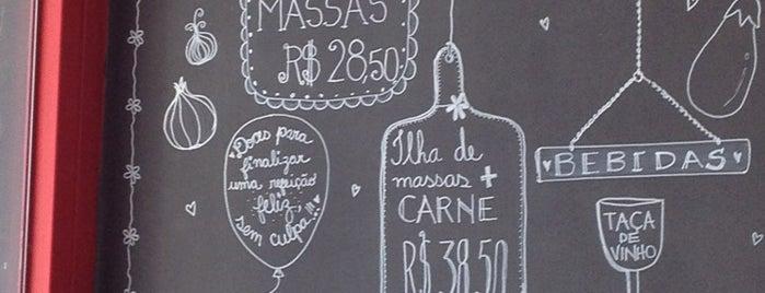 Pasta em Casa is one of Restaurantes.