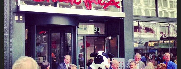 Chick-fil-A is one of The 15 Best Places for Sandwiches in The Loop, Chicago.