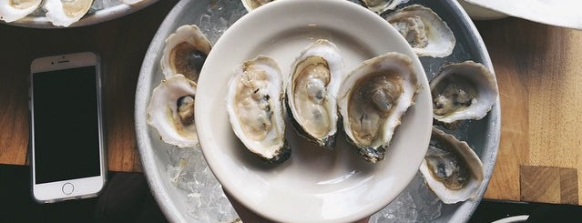 Atrium DUMBO is one of 20 Outstanding Oyster Happy Hours in NYC.