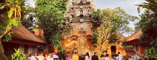 Puri Saren Ubud (Ubud Palace) is one of Bali.
