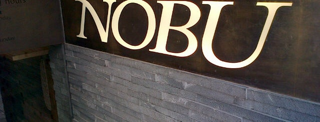 NOBU Budapest is one of Badge ¤ Bento.